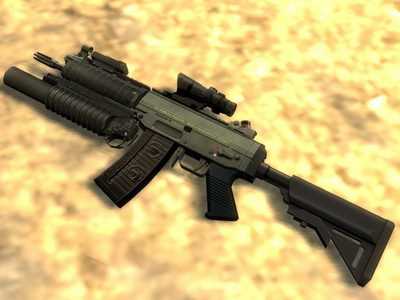 Default Animation for sig552