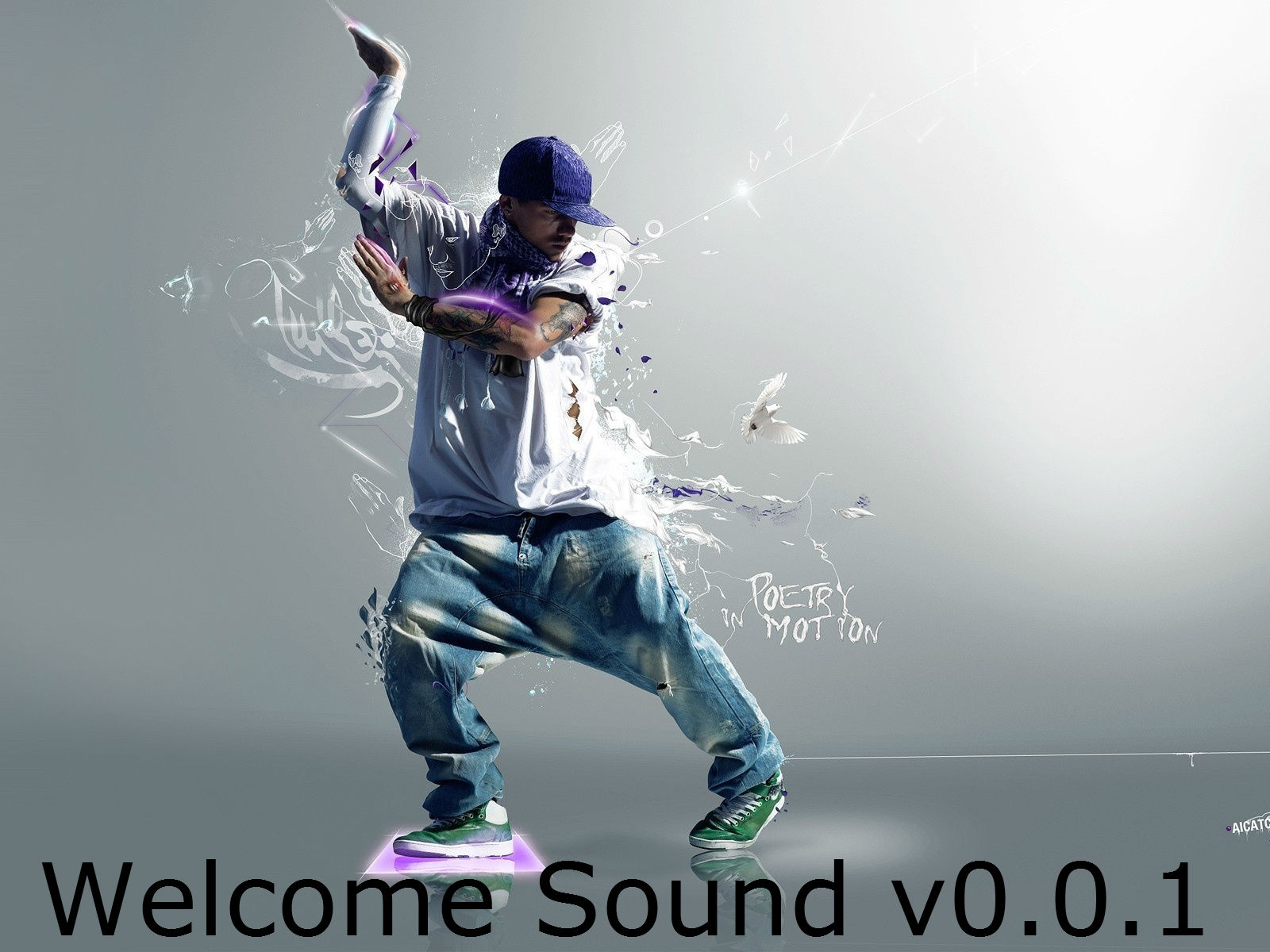 Welcome Sound v0.0.1