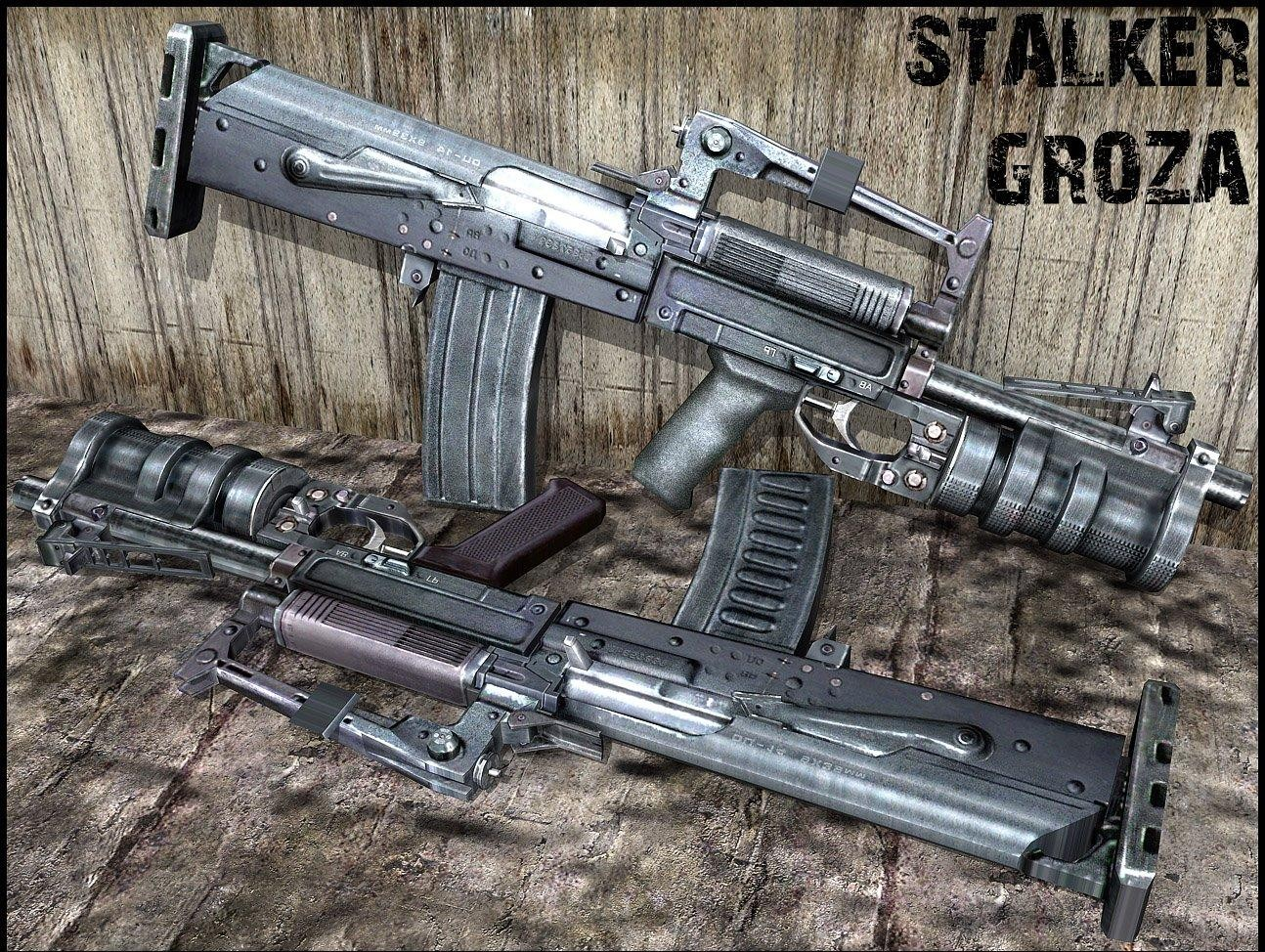 Stalker Groza for Famas Slot (ОЦ-14 Гроза)