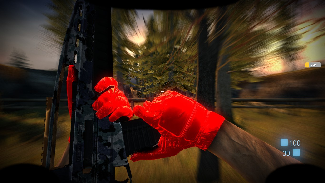 Tactical Gloves:Red