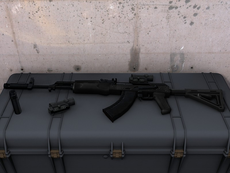 TACTICAL AK74