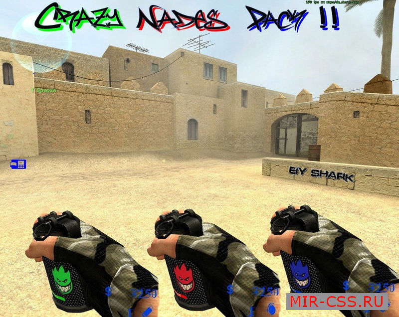 Crazy Nades PAck By Shark