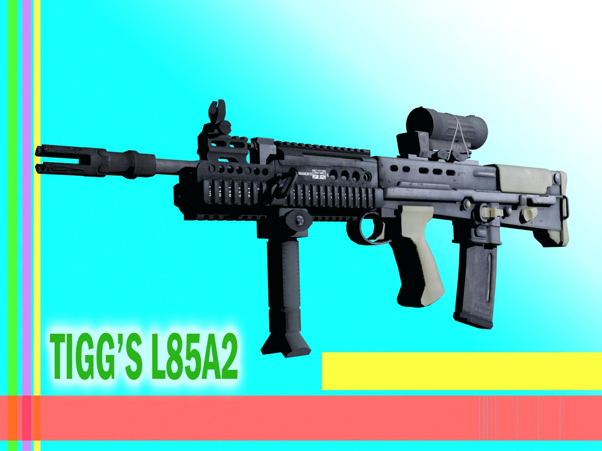 Aug L85A2 NATO Weapon