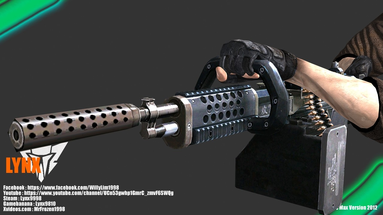 Пулемет из CrossFire — KAC Chainsaw