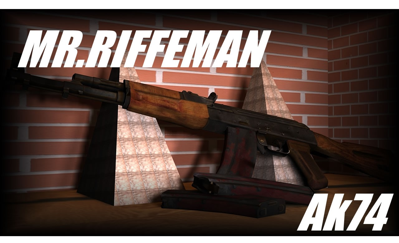 Автомат Mr.Rifleman Ak74