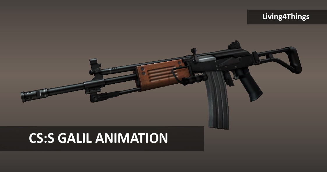2nd Galil Animation