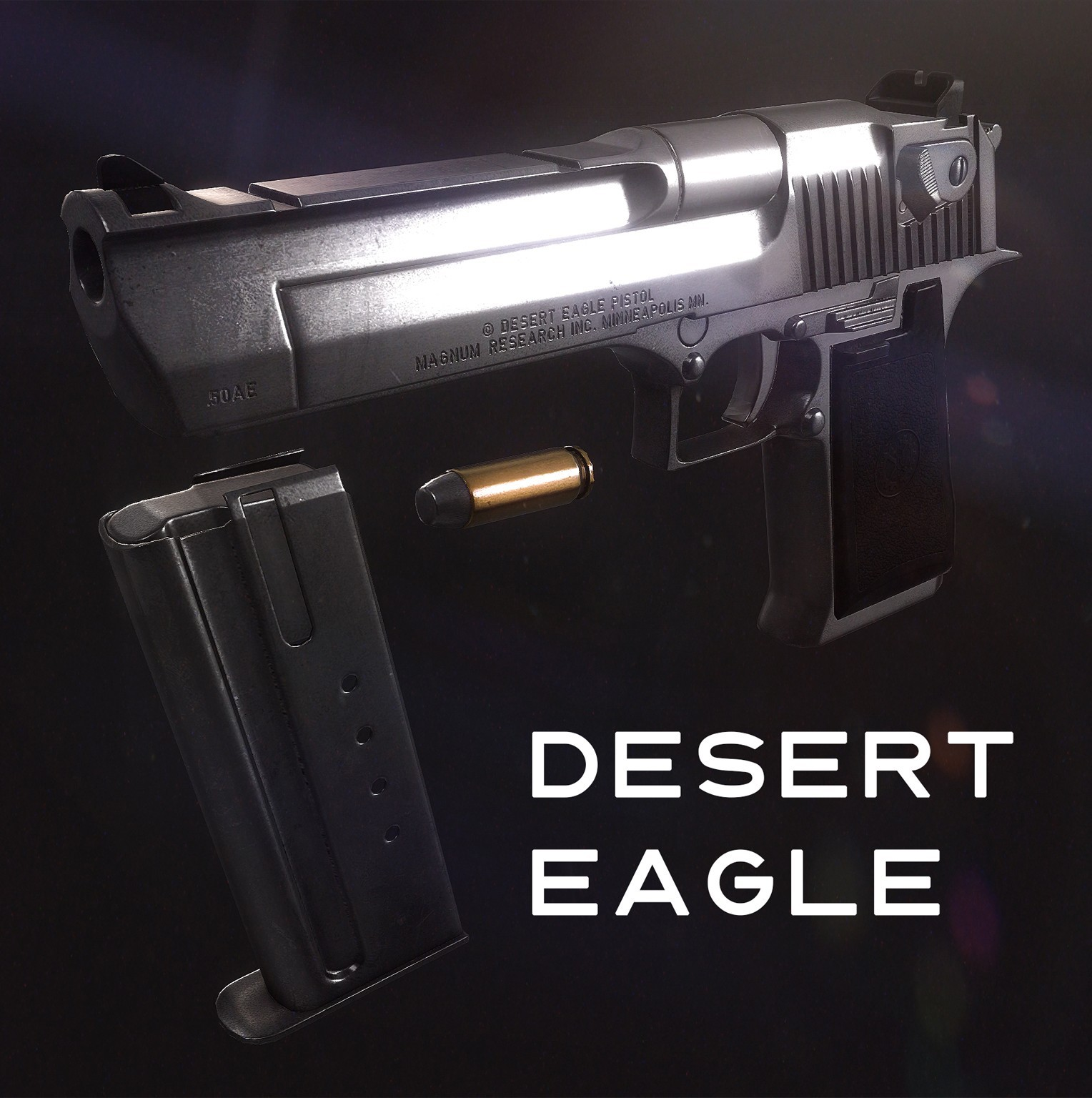 Пистолет Toasty's Desert Eagle