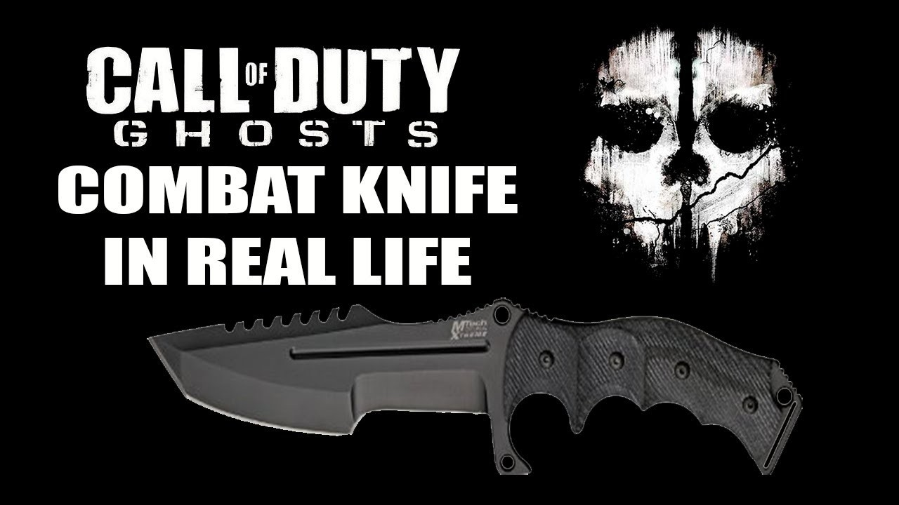 CoD Ghost Knife Animation