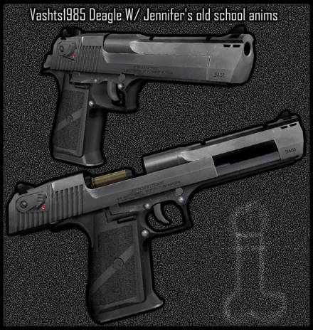 Desert Eagle для CSS — Vashts1985 Deagle. new anims