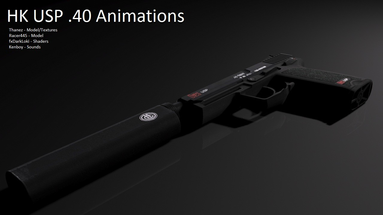 USP для CSS — HK USP Great Anims