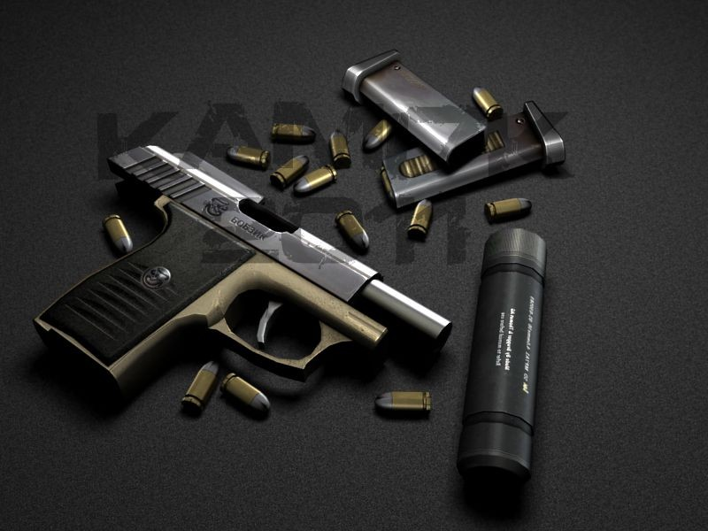 Five-Seven anims for SP-320