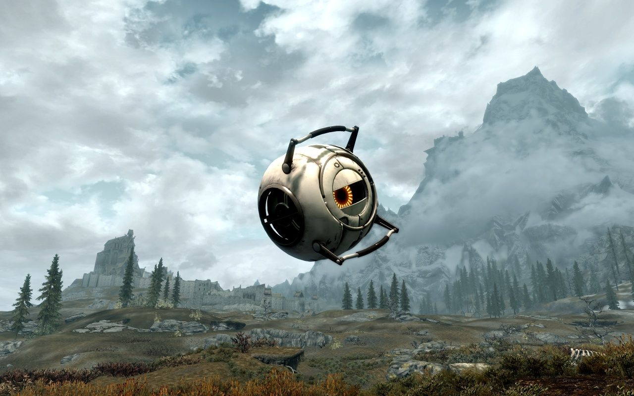 Fall of the Space Core для Skyrim