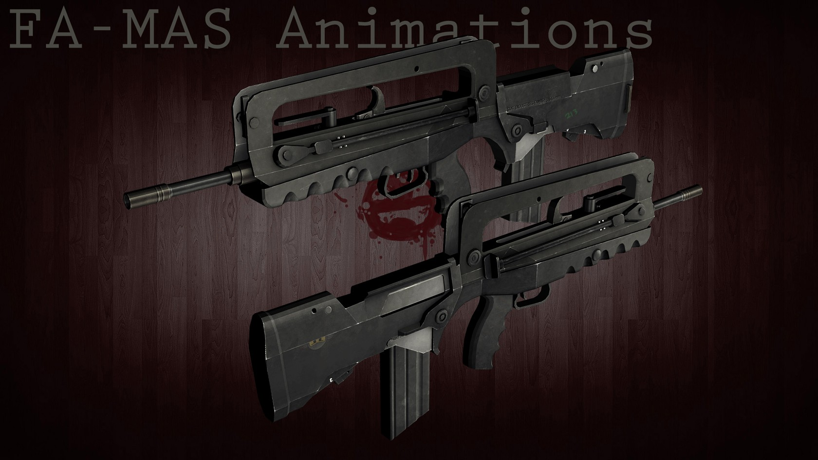 FAMAS для CSS — Release-Famas new animation
