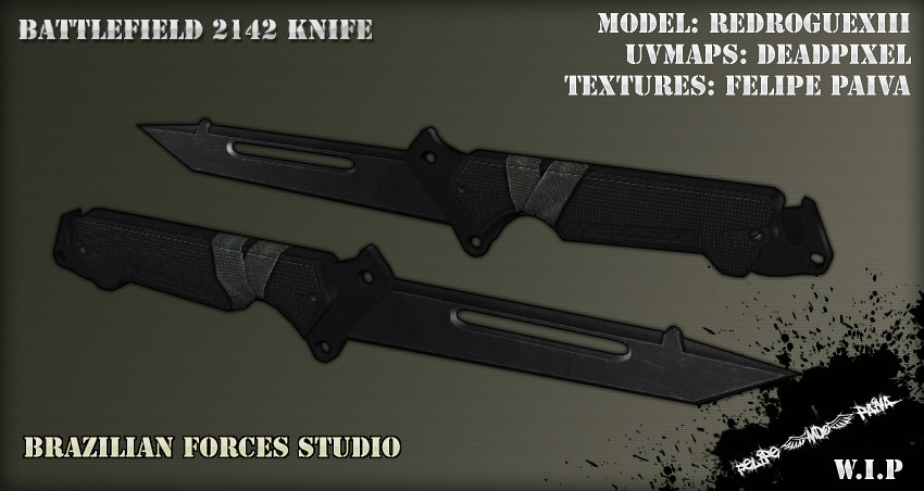 Ножи для css — knife battlefield pack anims