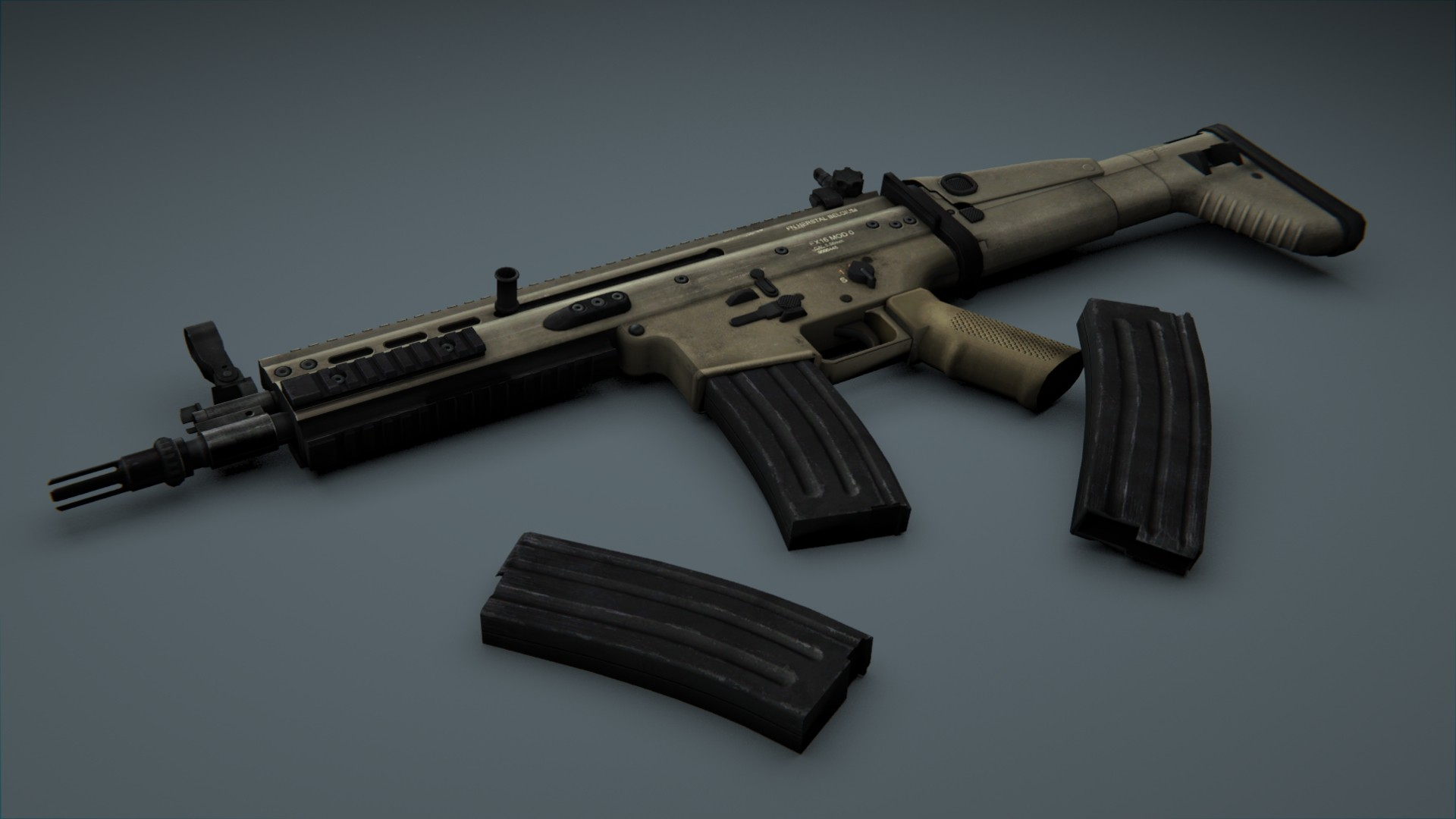 AUG для CSS — SCAR MW3 for AUG CS:S