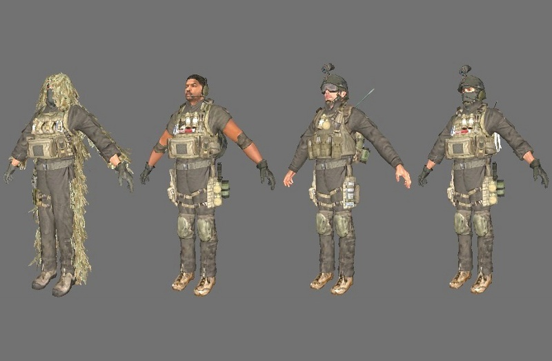COD4 pack CT Re-texture