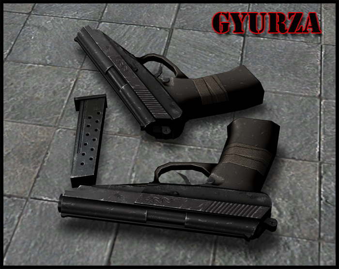 Glock Gyurza anims