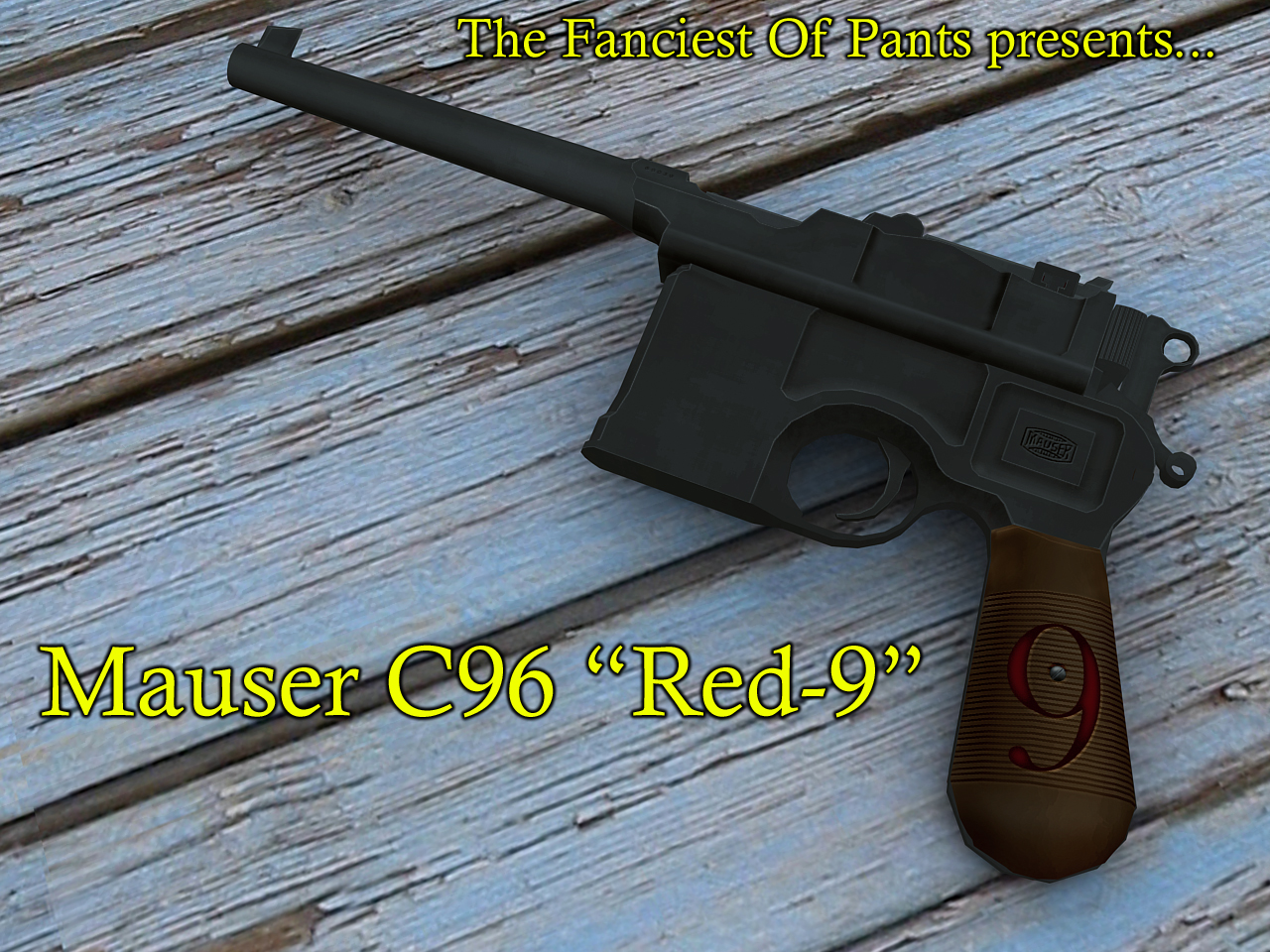 "Sig P228 для CSS — German Mauser ""red-9"""