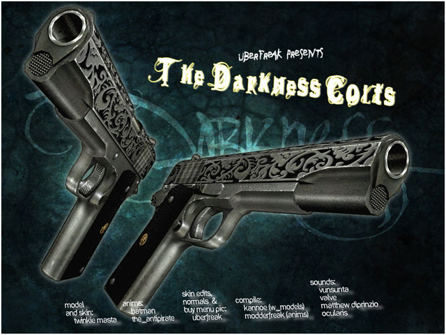 The Darkness Colts for Dual Elites
