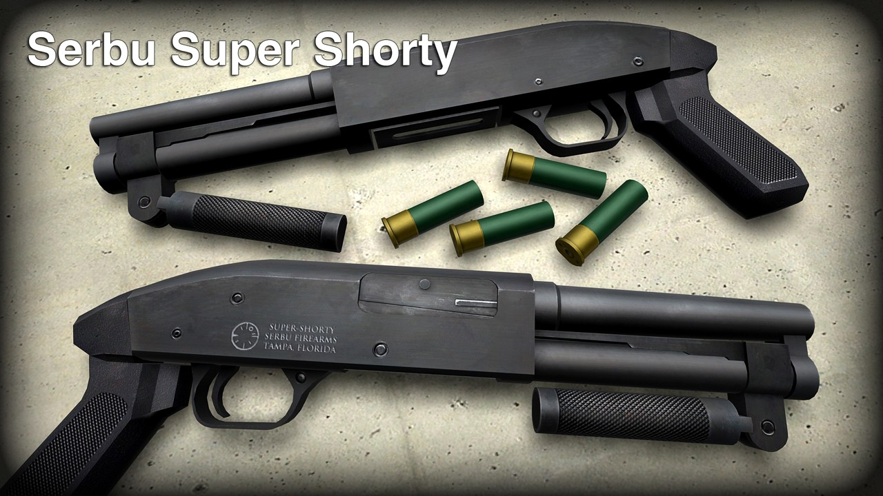 M3 для CSS — Serbu Super Shorty *World model fixed*