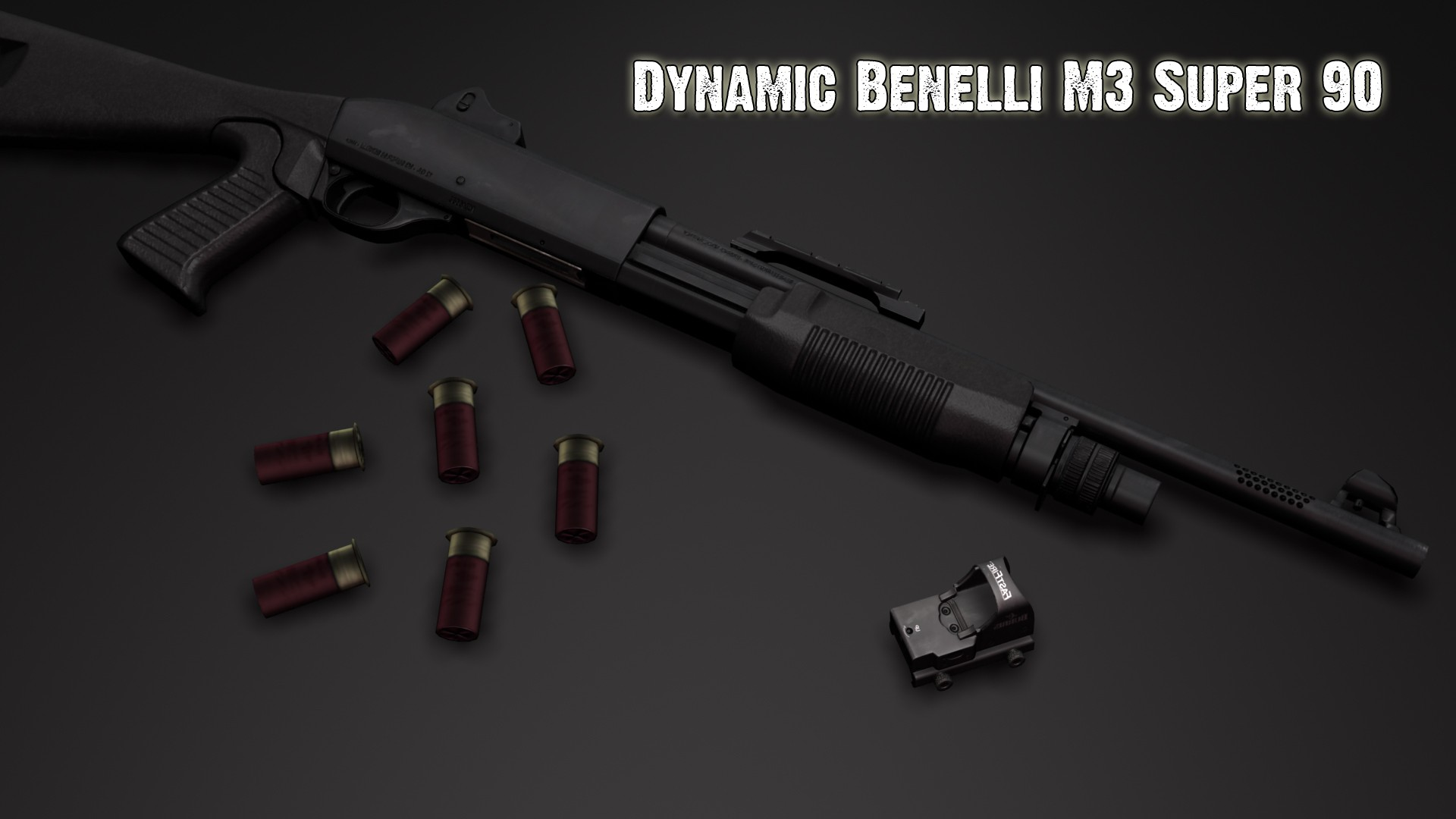 M3 для CSS — Dynamic Benelli M3 Super 90 Anims Pack
