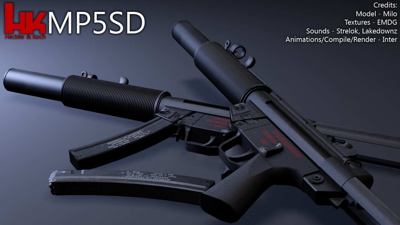 MP5 для CSS — Heckler & Koch MP5SD