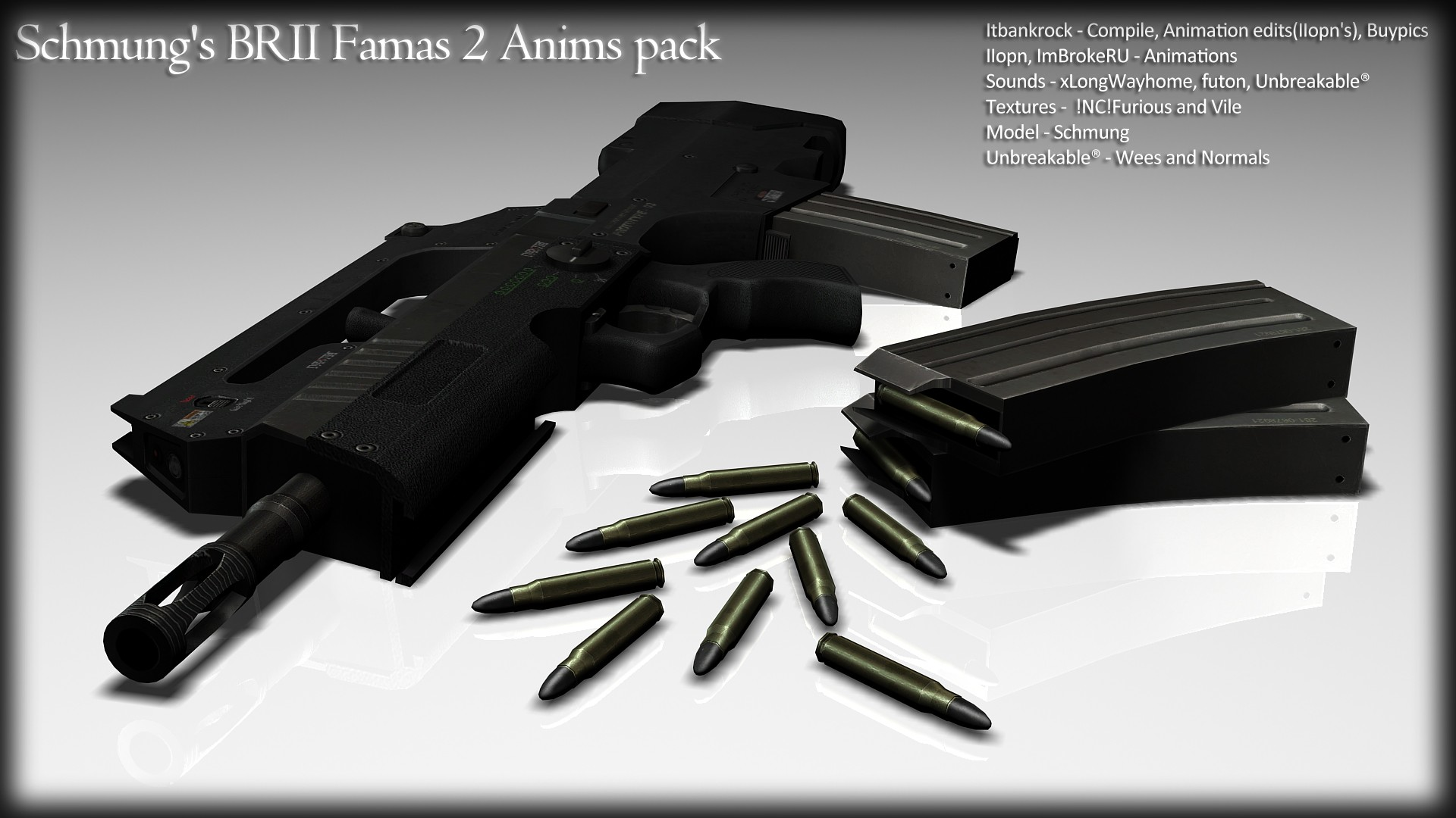 Schmung's BRII Famas 2 Anims pack