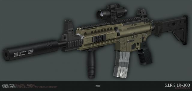 S.I.R.S LR-300 for M4A1