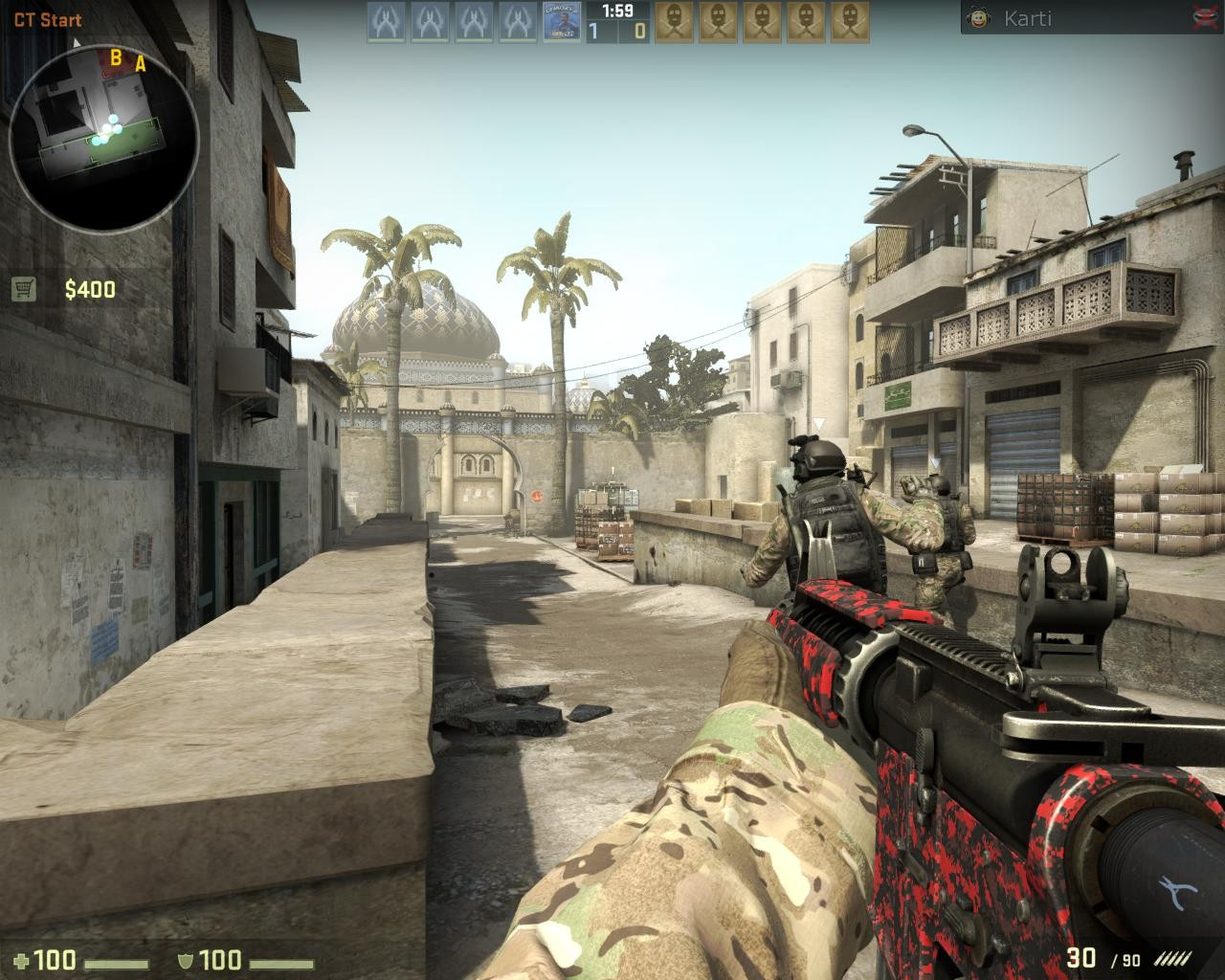 Red Digital M4A1