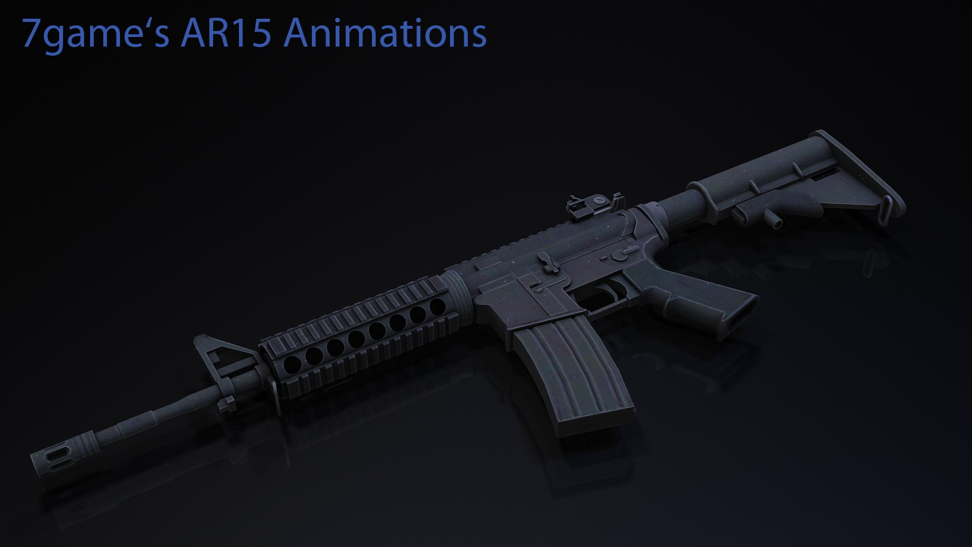 Arby26 AR15 On 7game's Anims | M4A1 для СSGO